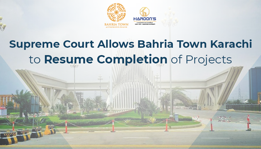 Bahria Town Karachi to Complete its Projects