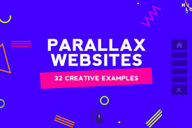 Parallax Scrolling Website