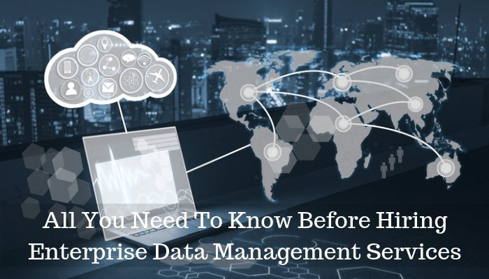 Enterprise Data Management Services