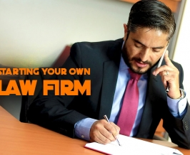 Starting Your Own Law Firm