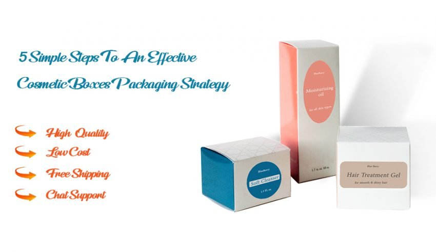 cosmetic boxes packaging