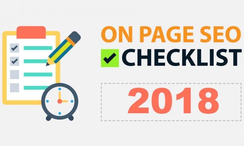 onpage seo checklist