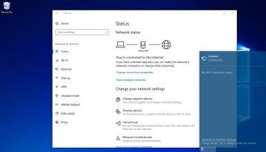 windows 10 network issue fix