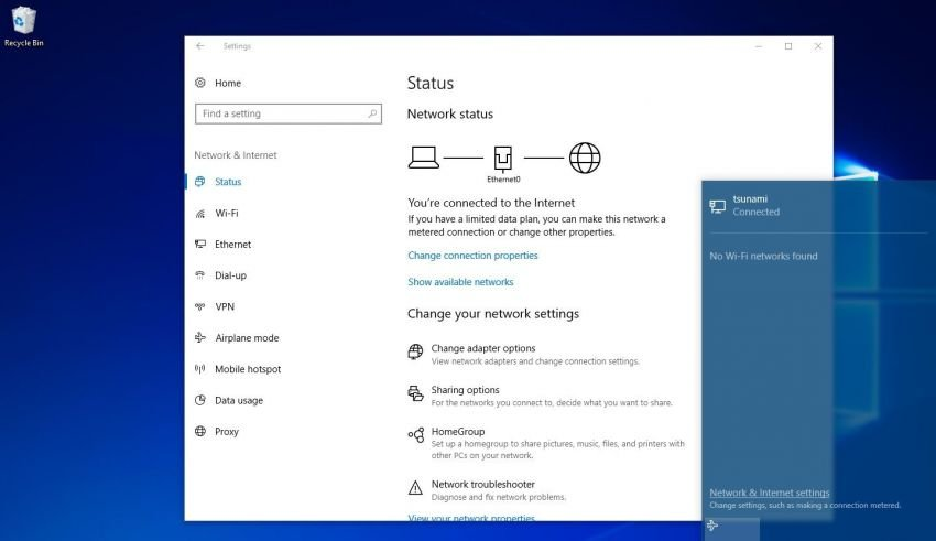 windows 10 network issue fix