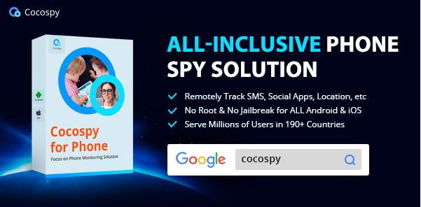 Cocospy's Free Cell Phone Tracker with Number: The Best Phone Spying