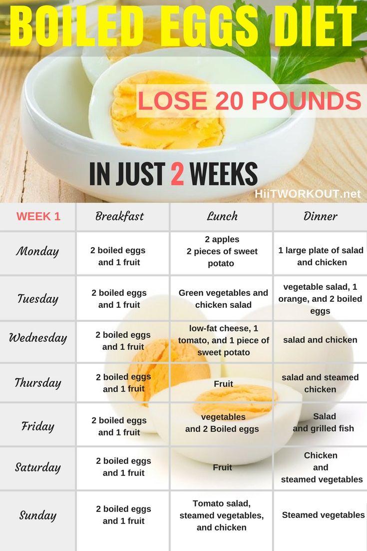 14 day egg diet