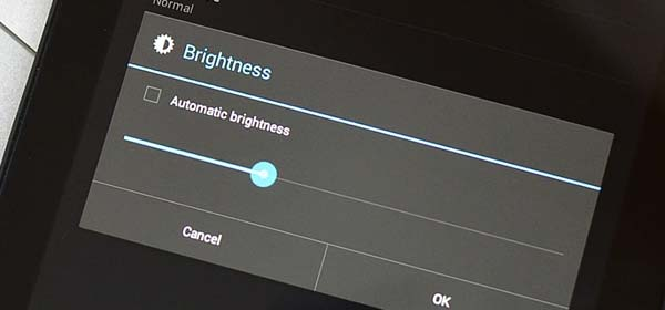 Disable Adaptive Brightness on Your Device