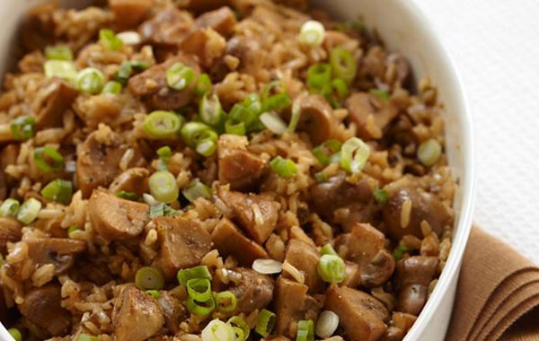 method for brown rice