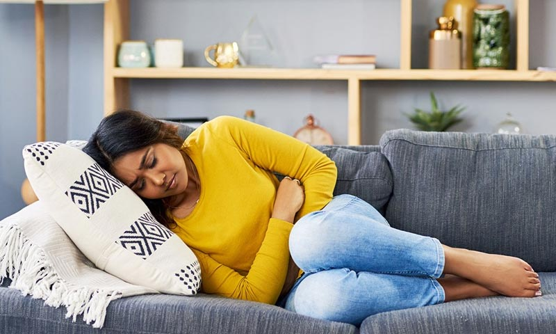 how long does ruptured ovarian cyst pain last