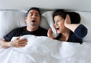 Snoring Husband? 4 Ways to Put the Kibosh on Snoring and Get Some Sleep