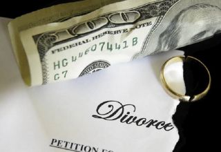 financial decisions on divorce
