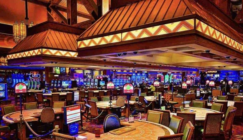 Slots machines or Table Games