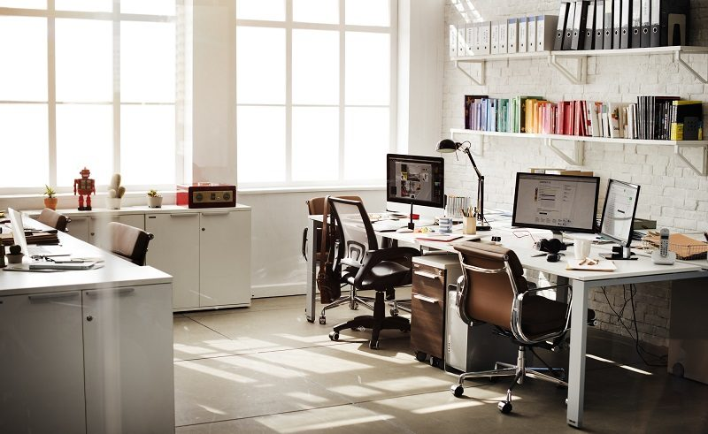 how to set up an office